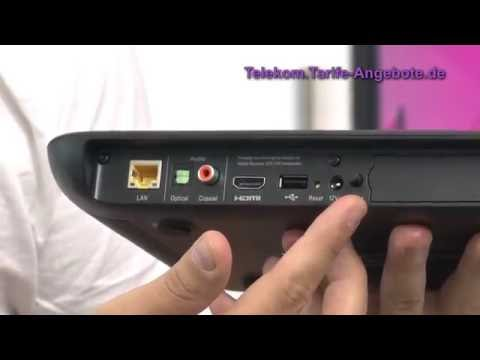 Video-Vorstellung Telekom Speedport W 102 Bridge duo (WLAN ...