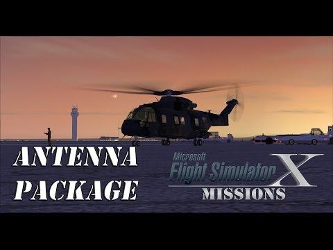 FSX/Flight Simulator X Missions: Antenna Package