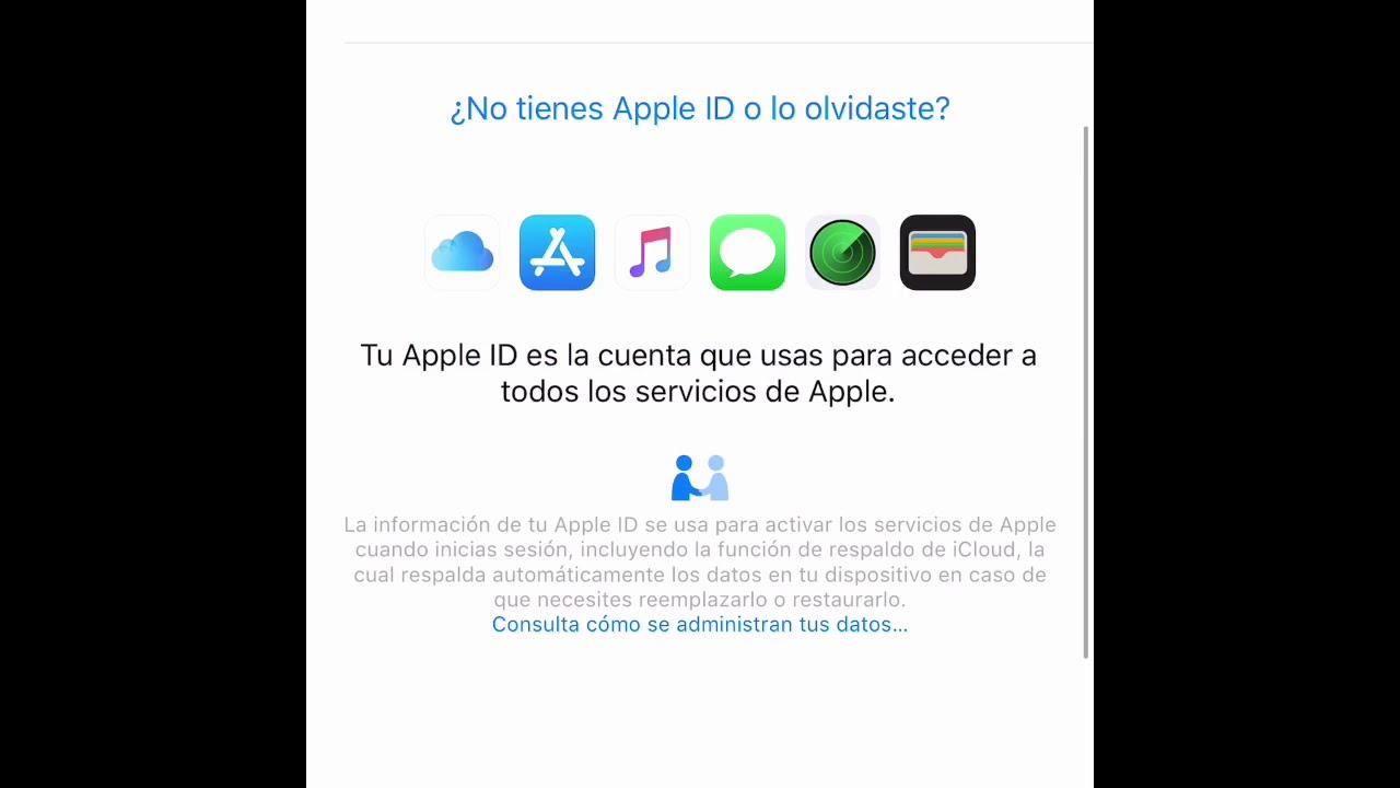 Como Recuperar La Contraseña De Una Cuenta De Icloud Iphone Ipad 2018