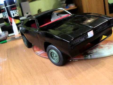 Papercraft Dodge Charger paper Model.MPG