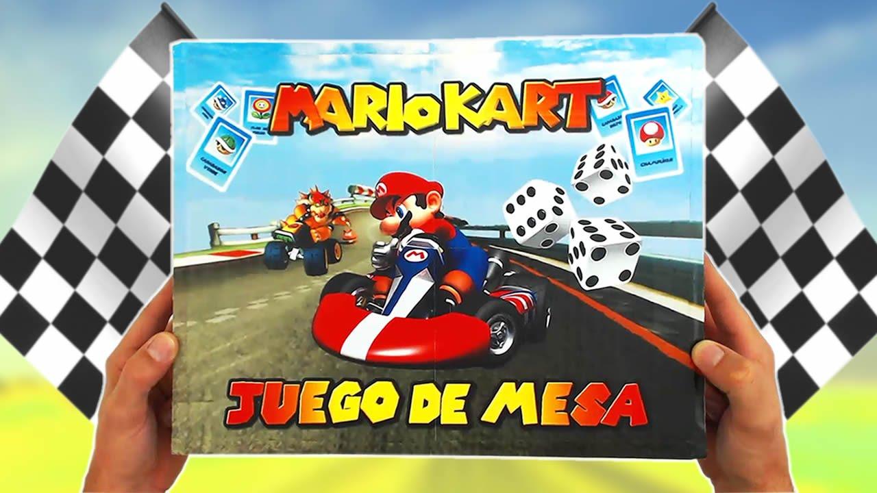 Juego De Mesa Inspirado En Mario Kart Caja Y Manual Youtube