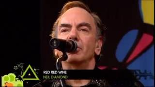 NEIL DIAMOND - RED RED WINE  (LIVE-2008)