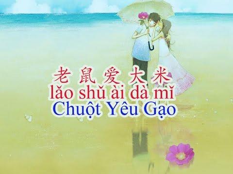 Dạy tiếng Trung qua bài hát Lao Shu Ai Da Mi - Chuột Yêu Gạo