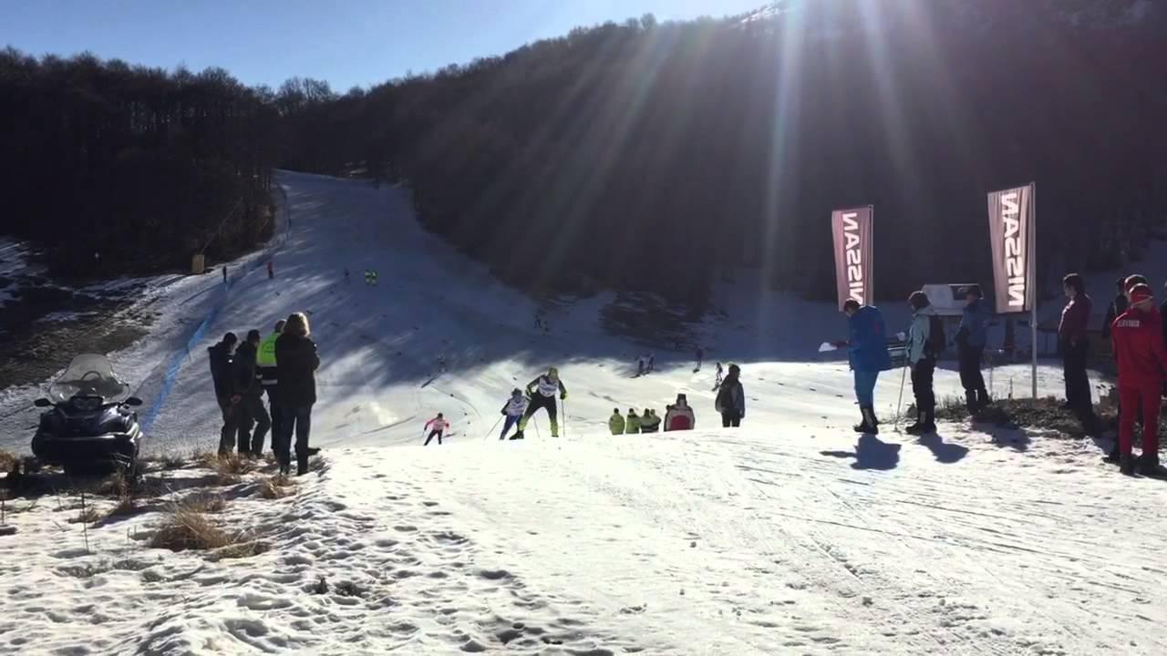 Campo felice - campionati mondiali studenteschi isf - gara di sci nordico t.l.
