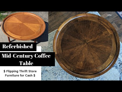 How To Refurbish Wood Furniture | Furniture Flip For Craigslist