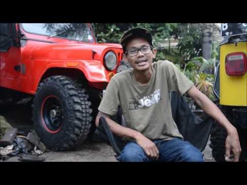 Vlog #9 CIVILAN JEEP review RDC4x4 dan Herman CJ7