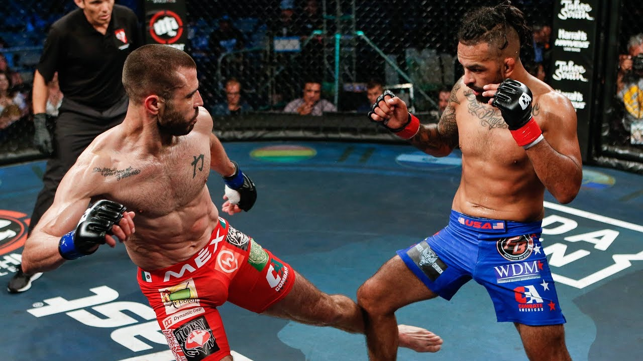 Jose Luis Verdugo vs Erick Sanchez Full Fight | MMA | Combate Tahoe