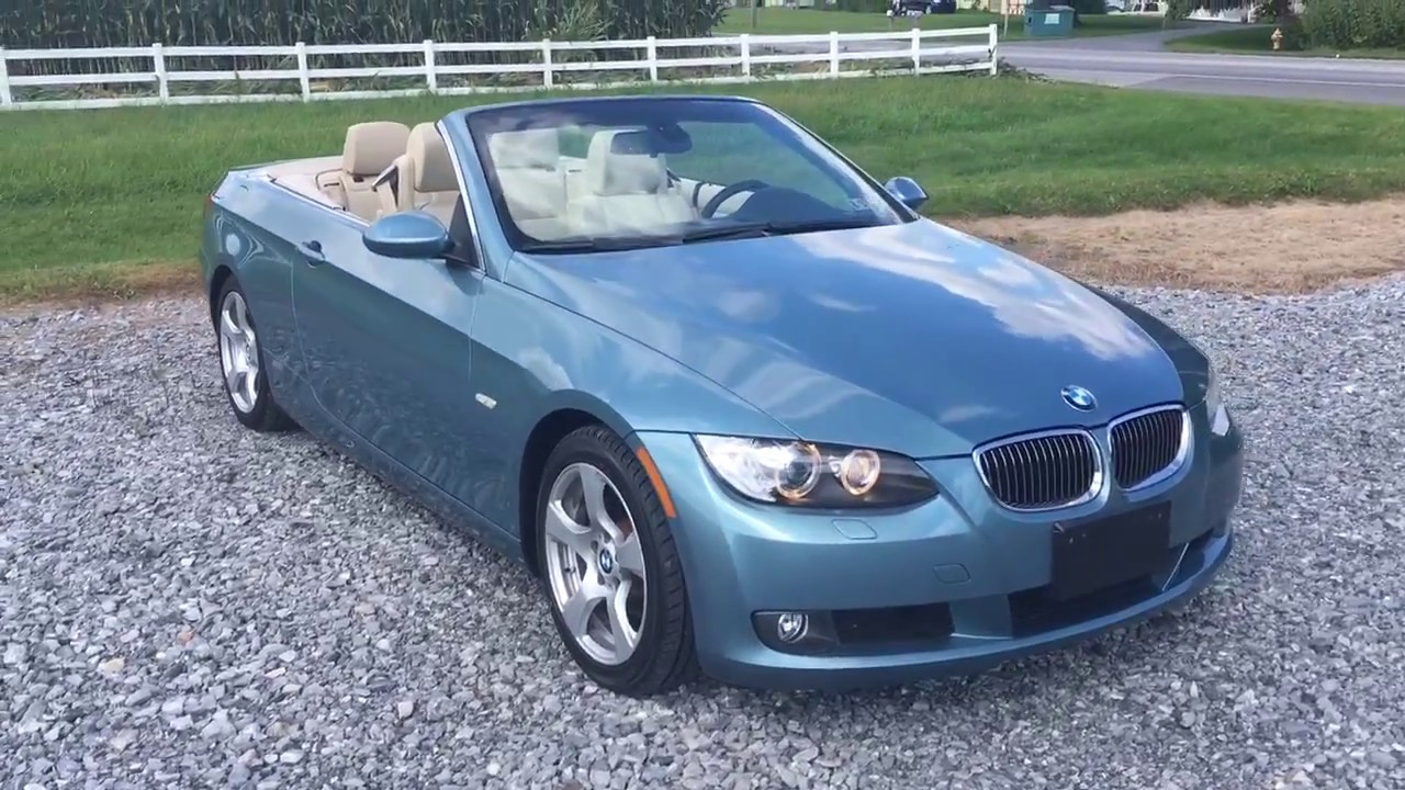 2007 Bmw 3 Series 328i Retractable Hardtop Convertible Whatta Car