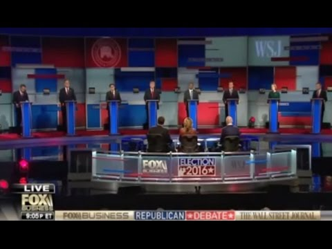 FULL 4th GOP Republican Presidential Debate Nov 10, 2015