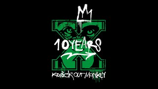 """KNOCK OUT MONKEY - """"10 Years"""" ライブダイジェスト映像 (Official Live Video)"""