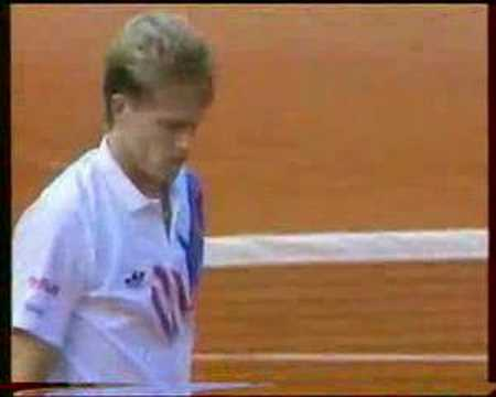Cherkasov Edberg French Open 1992