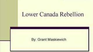 Lower Canada Rebellion of 1837