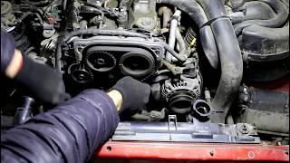 Ford Ranger 2,5 TURBO Форд Рейнджер 2007 года Замена ремня ГРМ и роликов