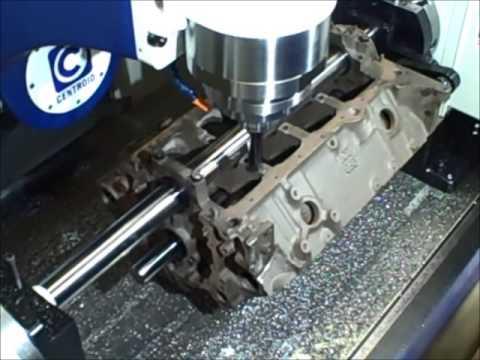 CNC Block Machining Small Block Chevy