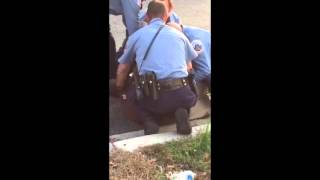 Cops Punch & Knee A Man Repeatedly! New Video