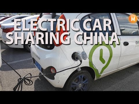 Electric Car Sharing in Shanghai China