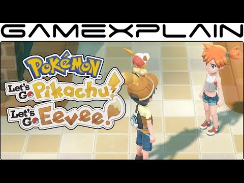 Pokémon Let's Go Pikachu & Eevee - Misty in Vermilion City! + Assorted Gameplay (Direct Feed)