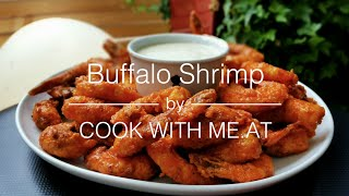 Buffalo Shrimp - Fried Shrimp on the Weber @Weber Original Store in Kassel - COOK WITH ME.AT