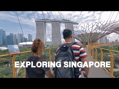 Exploring Singapore - (A BEAUTIFUL CITY!!)