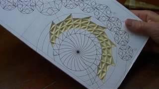 Геометрическая резьба по дереву. Урок 35 часть 1 (geometric wood carving)