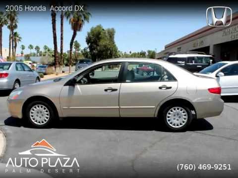2005 Honda  Accord - Auto Plaza Palm Desert