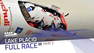 Lake Placid | BMW IBSF World Cup 2016/2017 - 4-Man Bobsleigh Heat 2 | IBSF Official