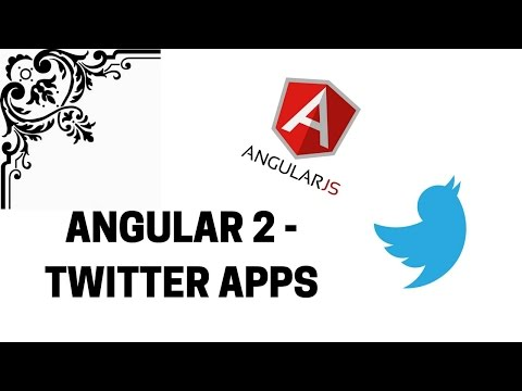 Angular 2 – Accessing twitter from your app    T-Pub :)