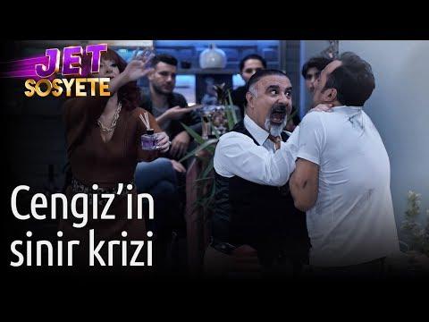 Jet Sosyete 3. Sezon 7. Bölüm - Cengiz'in Sinir Krizi