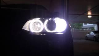 bmw led angel eyes h8 py24w led front turn signal bulbs w led sidemarkers