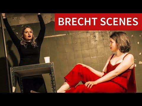"""Brecht Scenes"" - Final performances theater class @ Bard College Berlin"