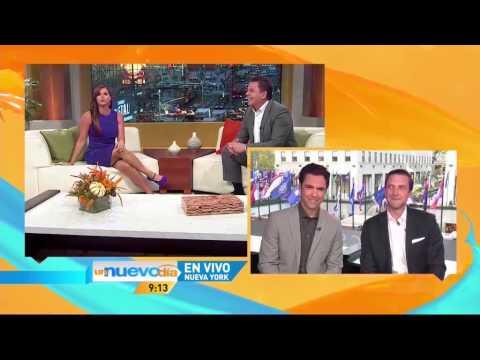Raul Esparza y Danny Pino en vivo