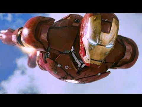 Iron Man vs F-22 Raptor - Dogfight Scene -...