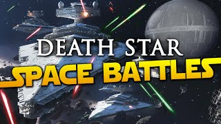 Star Wars Battlefront Death Star | Space Battle Gameplay & Imperial Star Destroyer Explosion (60fps)