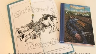 Gulliver's Travels Literature Unit and Lapbook Thumbnail