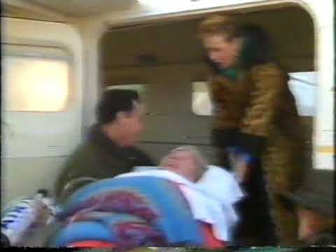 On the set of The Flying Doctors
