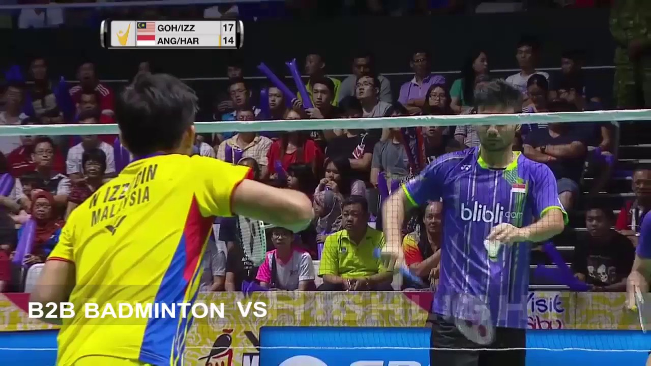 Badminton 2017 MalaysiaMaster Final Berry Angriawan Hardianto