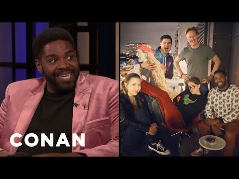 Ron Funches On The Conan & Friends Tour - CONAN on TBS