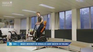 """Handicap : """"Gyrolift"""" un nouveau système de fauteuil-roulant en développement"""