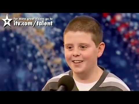 Liam McNally Danny Boy  Britains Got Talent