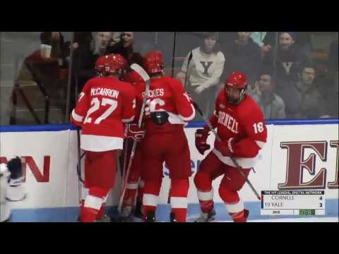 Highlights: Cornell Men's Ice Hockey at Yale - 11/12/16