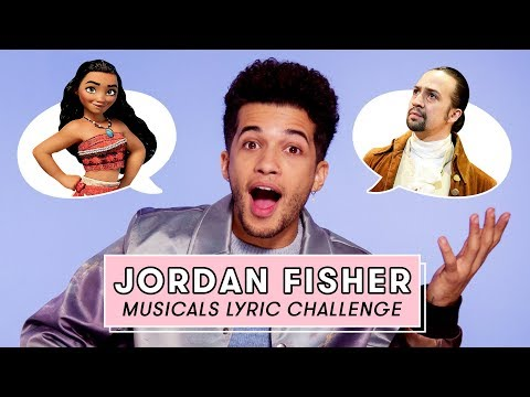 Jordan Fisher From To All The Boys 2 Sings Moana, Hamilton, And More Hit Musical Songs