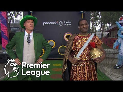 2 Robbies make their picks for USC-Notre Dame at Premier League Mornings Live Fan Fest | NBC Sports