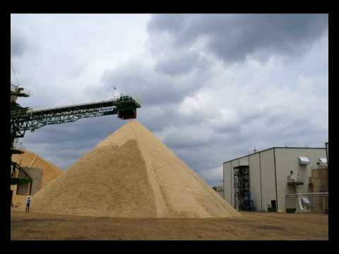 Worlds largest wood pellet mill Green Circle Bio Energy Inc - BRUKS Rockwood