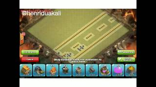 Clash of clans stopmotion.