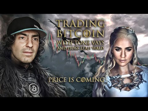 Trading Bitcoin w/ Leah Wald - Rejection at Trendline, now what?