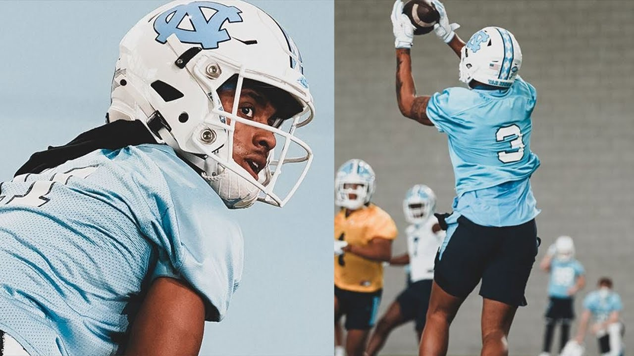 Video: Wide Receiver Intel from UNC Spring Practices