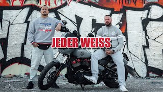 CASHMO & TWIN ►JEDER WEISS◄ prod Cashmo (Official Video)