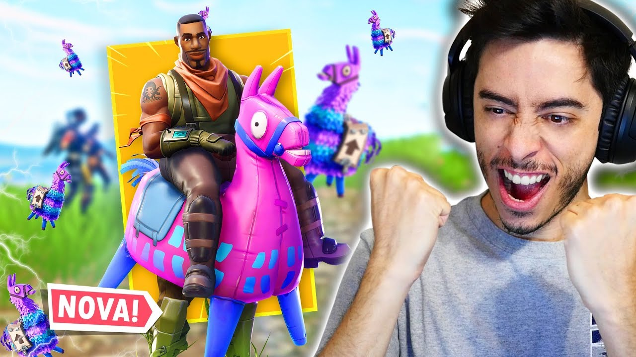 A SKIN DA LHAMA SAGRADA! - Fortnite - YouTube