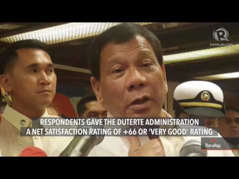 Satisfaction with Duterte admin improves – SWS poll