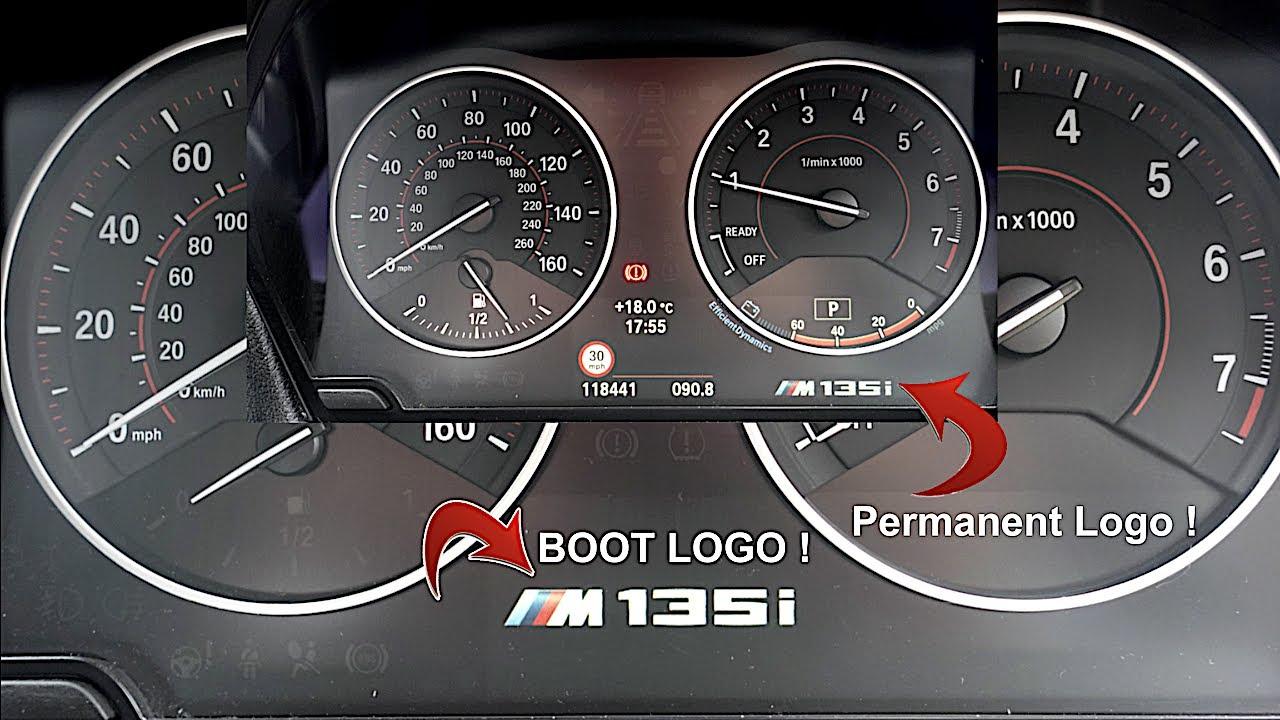 BimmerCode : Coding The M Performance Logo / Start Logo Into Instrument Cluster
